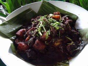 5 daging masak hitam