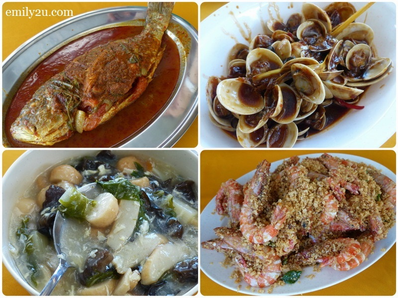 7. seafood lunch catered by Hotel Sea Lion