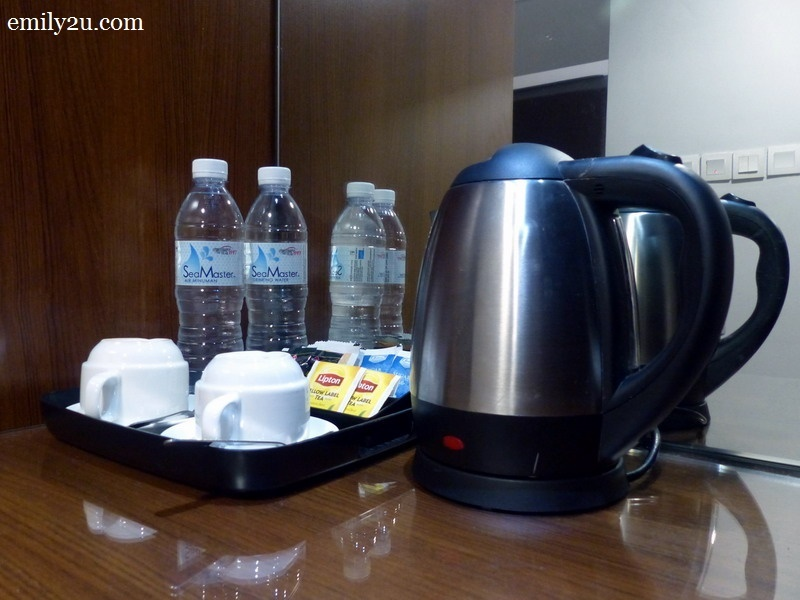 7. coffee & tea making facility