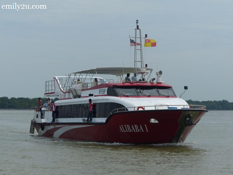 4. the new Alibaba boat