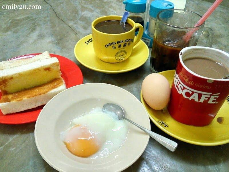 1. traditional Hainanese breakfast at Chong Kok