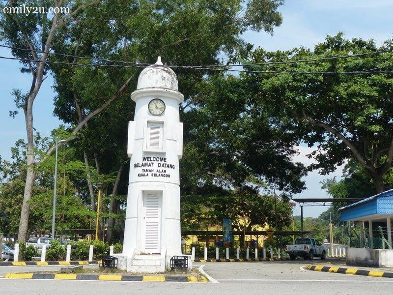 1. The landmark for Kuala Selangor Nature Park (Taman Alam)
