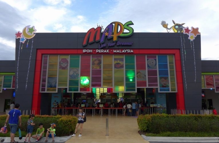 Opened: Asia's First Animation Theme Park Movie Animation Park Studios (MAPS)