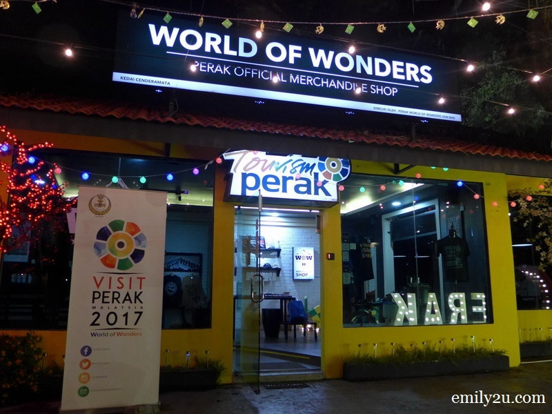 1. Perak World of Wonders Official Merchandise Shop in Ipoh