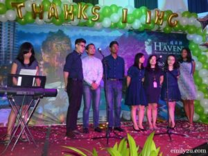 10 The Haven Thanksgiving Party