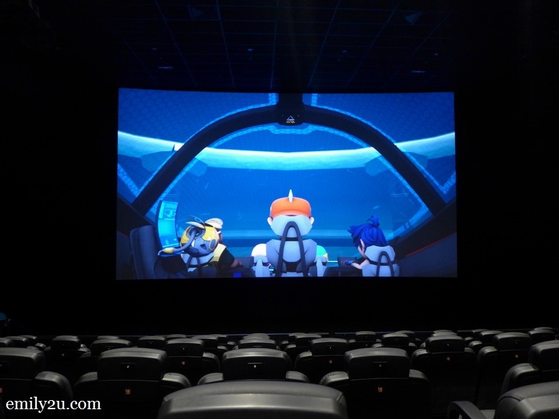 11. go on an adventure with BoBoiBoy in the 4D Adventure Theatre