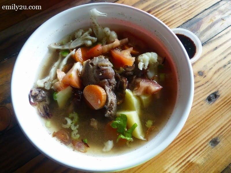 11. beef noodles @ Warung Pak Din