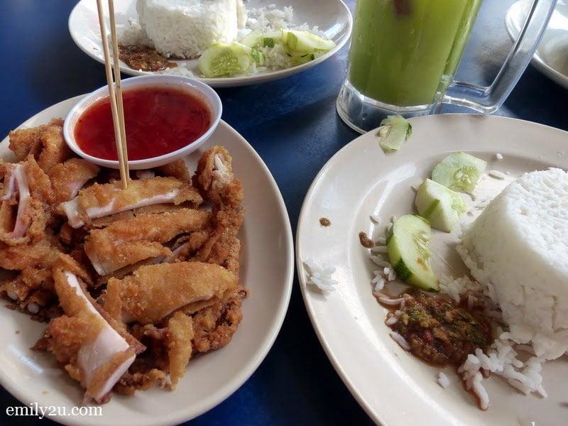 14. signature dish at Nasi Kukus Sotong Besar