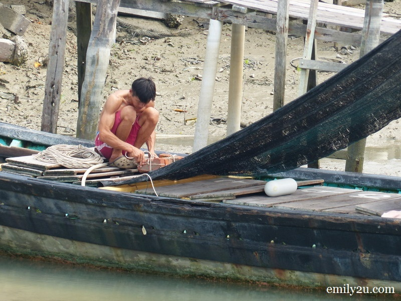 15. a local fisherman
