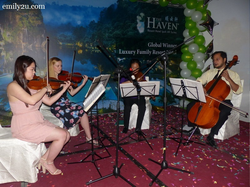 17. The Haven String Quartet winds the party down