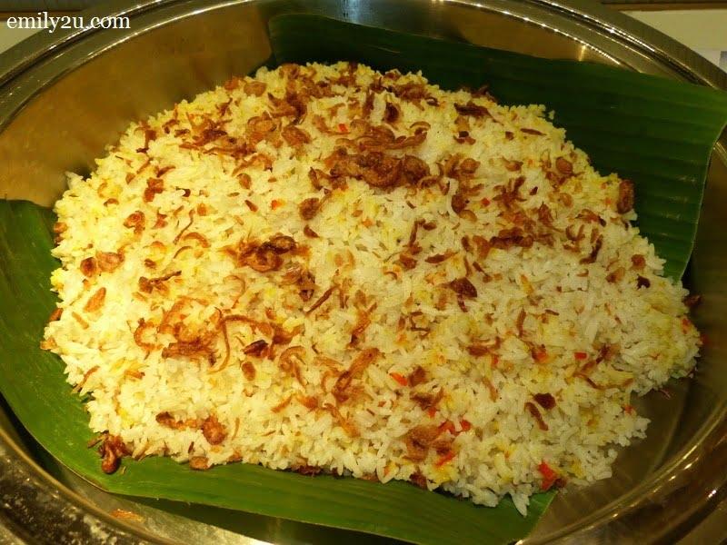 2. nasi briyani