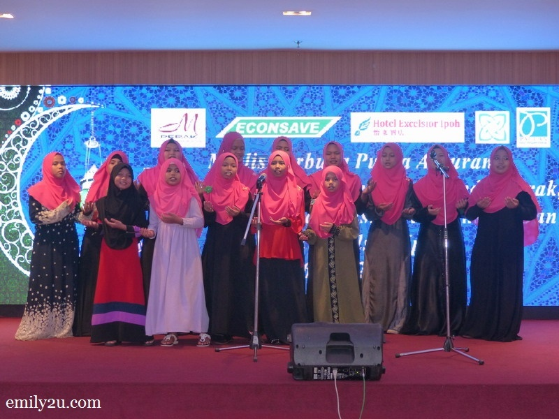 6. nasyid performance by some of the home's children