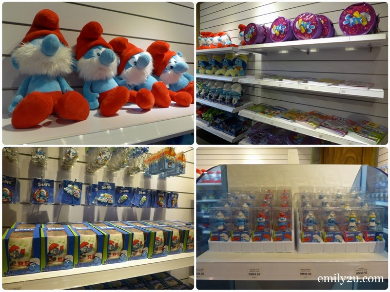 27. The Smurfs merchandise