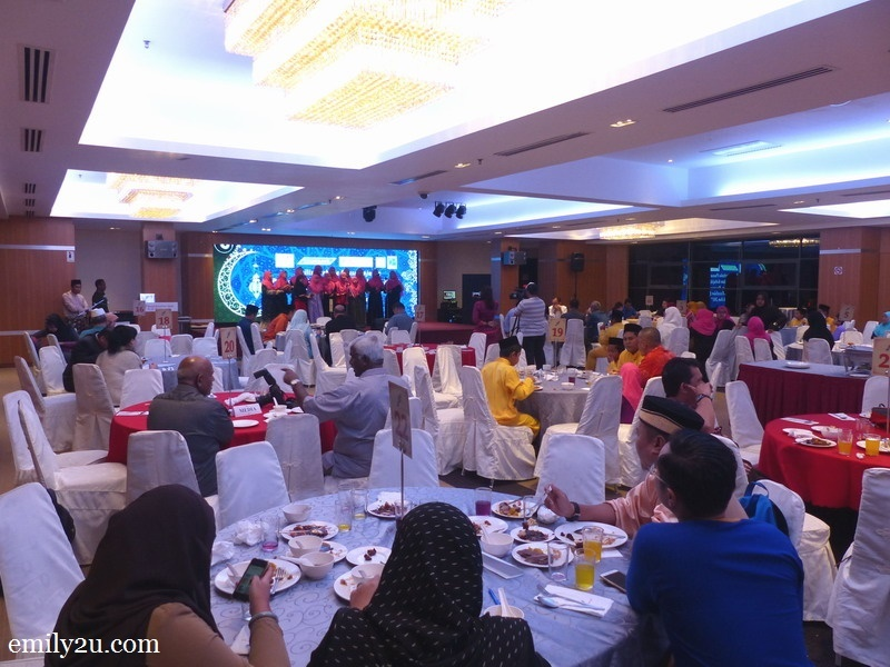 2. the ballroom of Hotel Excelsior Ipoh