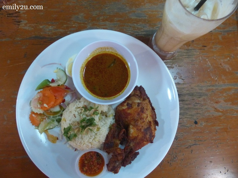 4. Nasi Dal with Honey Milk Dates