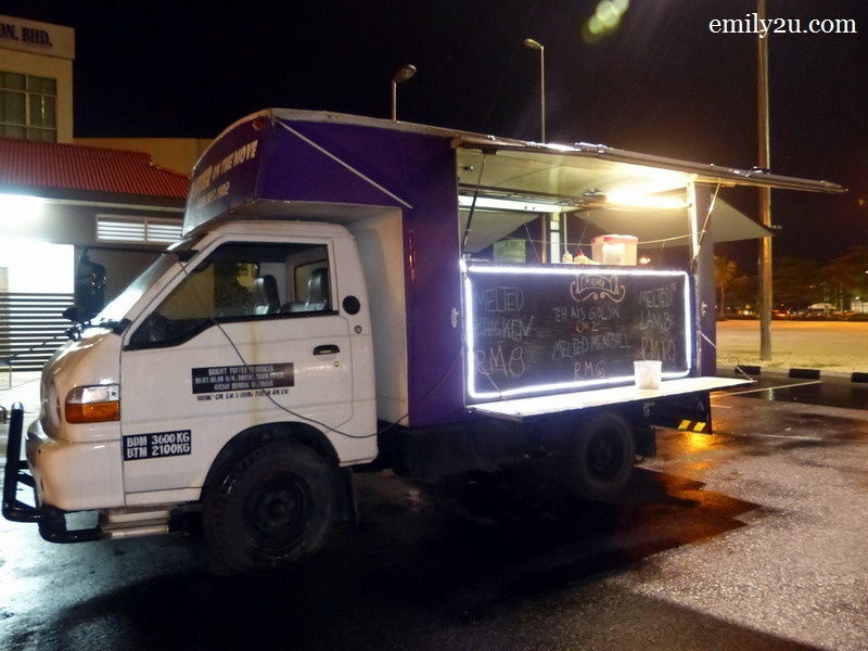 5. one of the trucks on that rainy night
