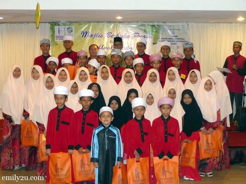 6. children from Pertubuhan Kebajikan Anak Yatim Bait Al Amin