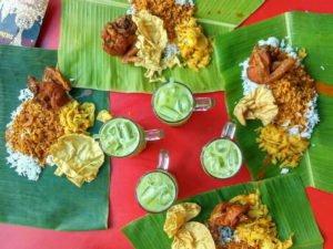 6 Yap Kee banana leaf rice