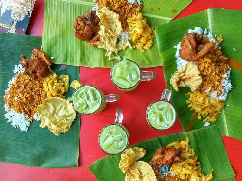 6. banana leaf rice @ Yap Kee (photo credit: Ramble and Wander)