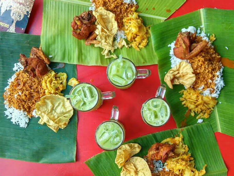 6. banana leaf rice @ Yap Kee (photo credit: Ramble and Wander)