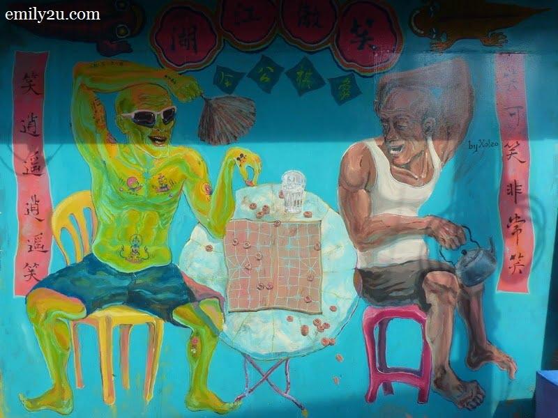 7. a wall mural