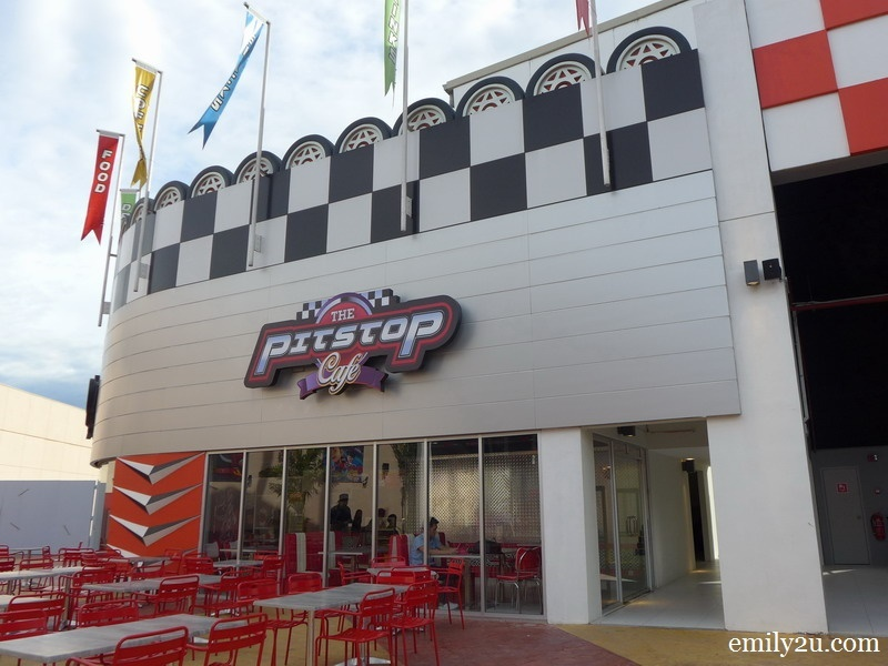8. The Pitstop Café
