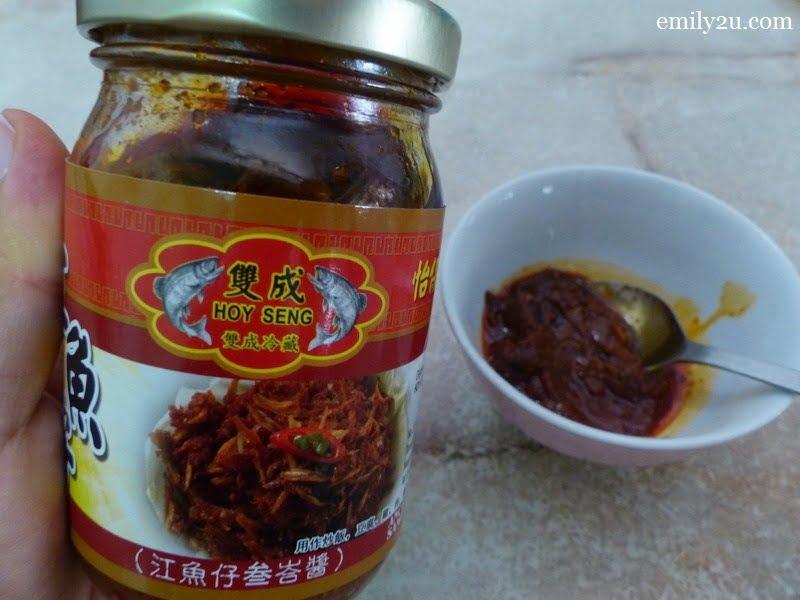 9. Anchovies Sambal Sauce