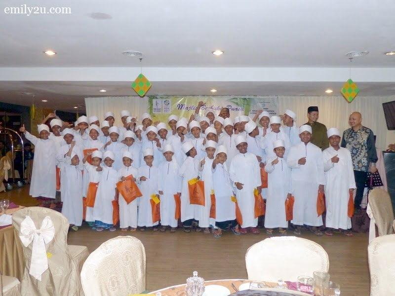 9. kids from Maahad Tahfiz Al Ansori, Chemor