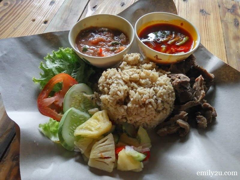 9. at Warung Pak Din