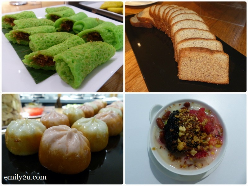 13. a variety of desserts