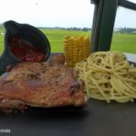 grilled chicken chop set