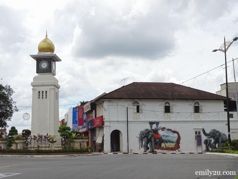 Kuala Kangsar clock tower