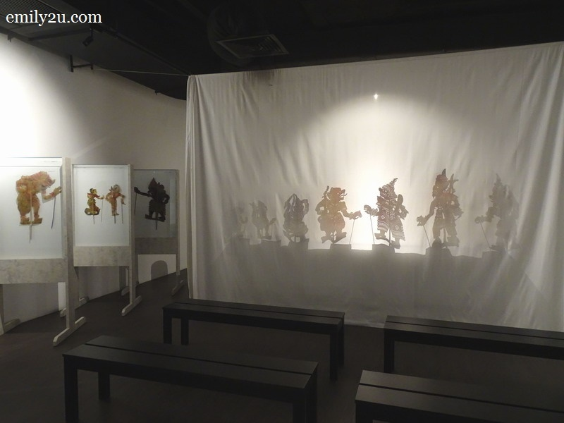 wayang kulit (shadow play)