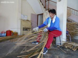 3 weave bamboo baskets