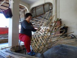 4 weave bamboo baskets