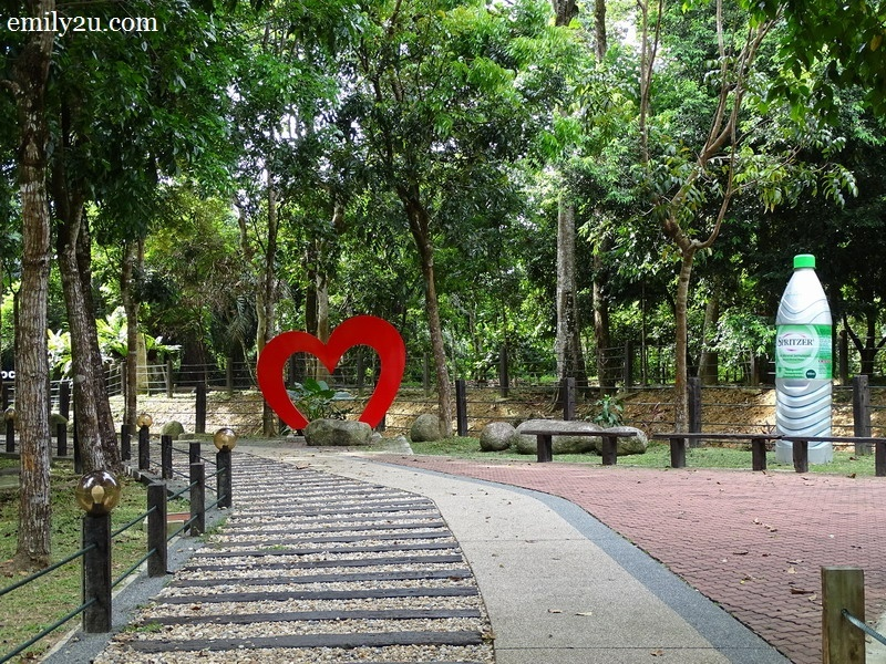 5. 216 steps constructed from Taiping's historical first railway sleepers to reach Cactus Rock