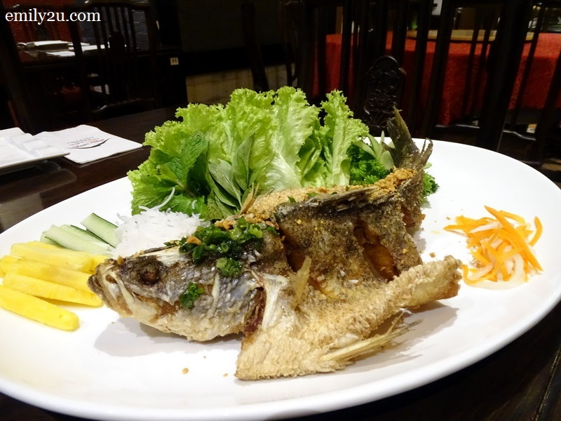 7. Mekong Delta Fried Fish