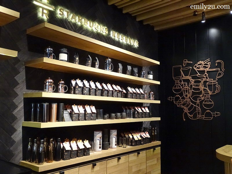 8. Starbucks Reserve® line of coffee