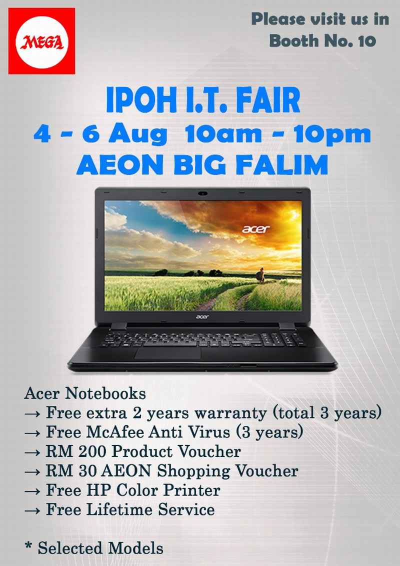 best deals on Acer notebooks