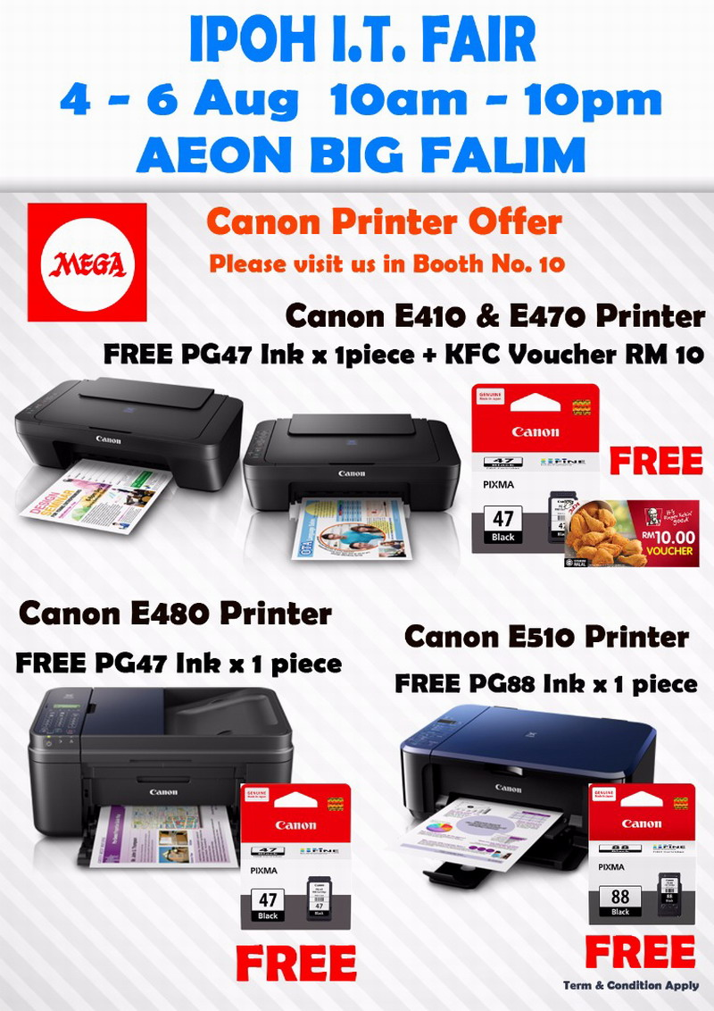 Canon printers not to be missed