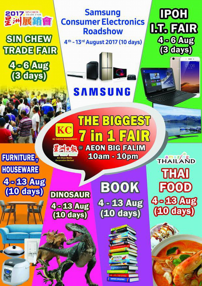 Perak's Biggest 7-in-1 Fair