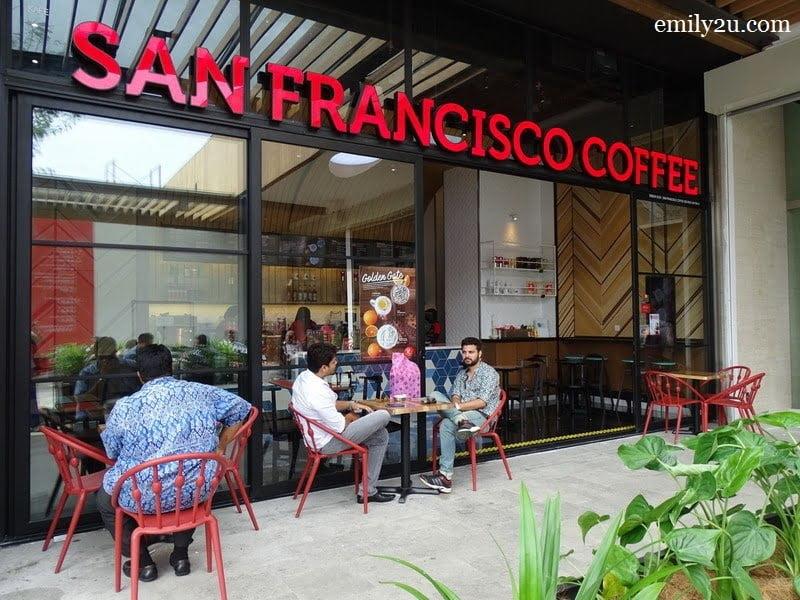 San Francisco Coffee, SkyAvenue