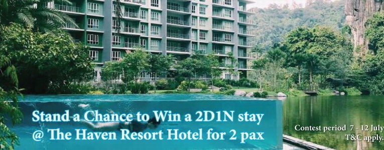 Let's Join The Haven Facebook Contest & Win A Night's Stay