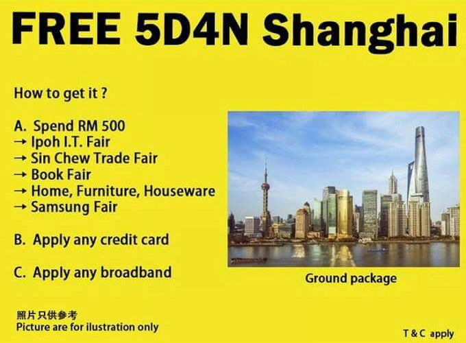 free 5D4N Shanghai tour