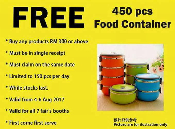 free 450 food containers