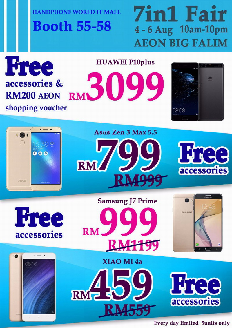 promotions by Handphone World