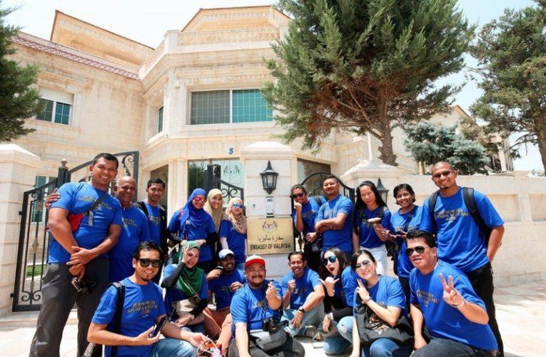 Malaysian Media Delegation Visits Embassy of Malaysia in Amman, Jordan