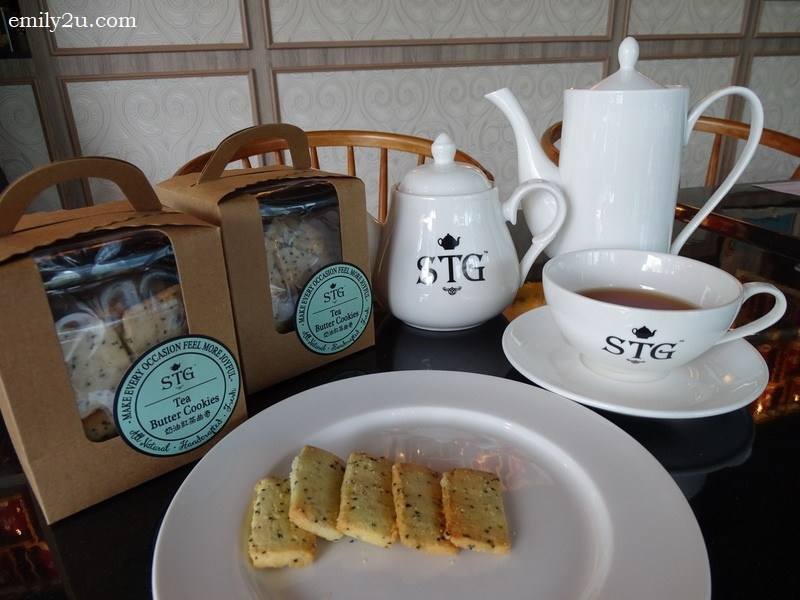 11. STG's handcrafted tea butter cookies, sold in packs