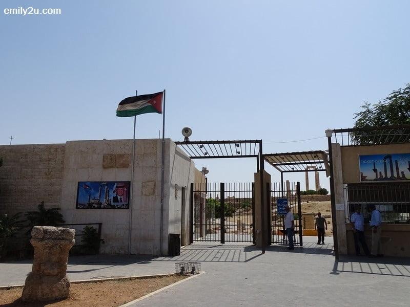 2. Amman Citadel in Amman, Jordan