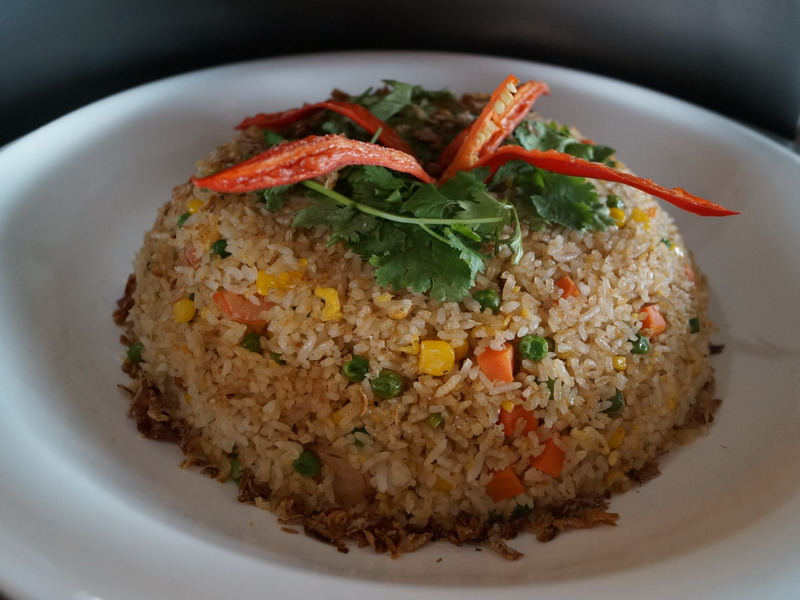 2. Indonesian fried rice with seafood